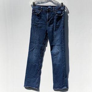 Old Navy Straight Fit Jeans Medium Rinse Boy's 18